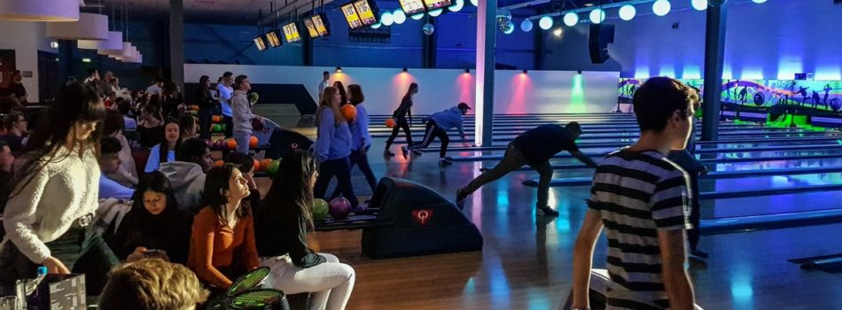 Bowling auf 16 Bahnen